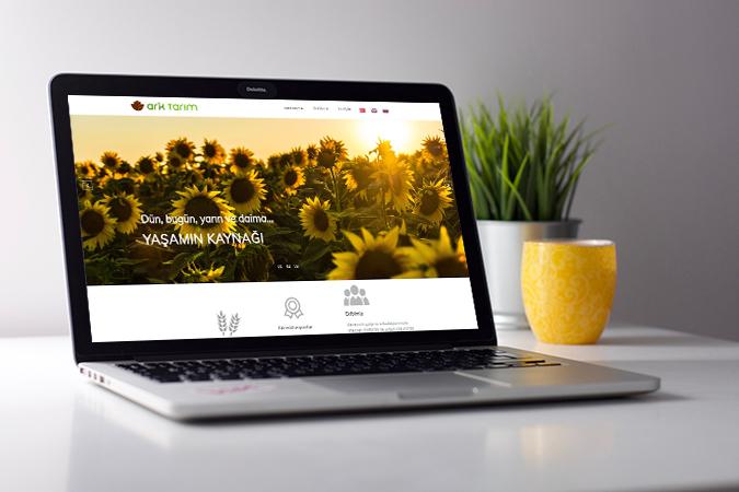 Kurumsal web tasarım - Ark Tarım -  İstanbul
