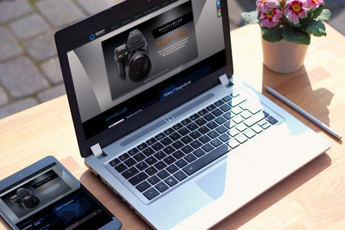 Kurumsal web tasarım - Bükey Fotoğrafçılık - İstanbul