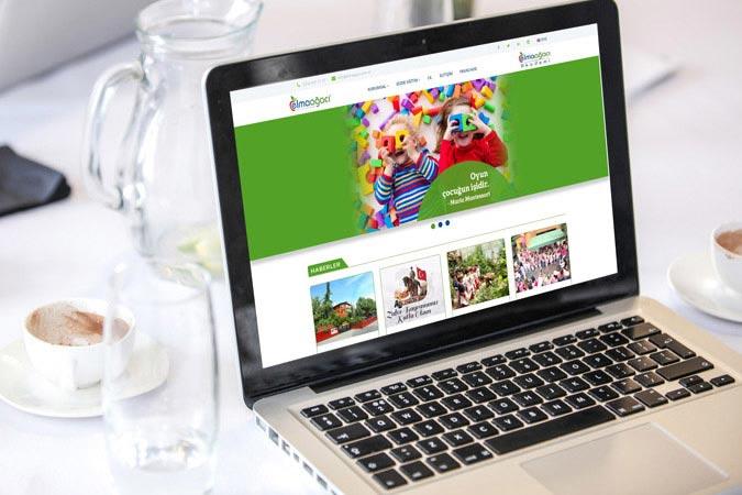 Kurumsal web tasarım - Elmaağacı Anaokulu - Küçükyalı Maltepe İstanbul