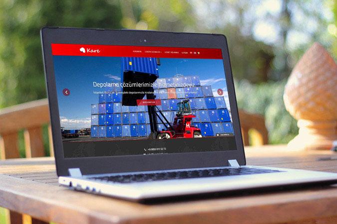 Kurumsal web tasarım - Kare Lojistik - İstanbul