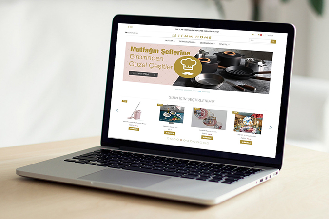 E-ticaret Yazılımı - Lemm Home E-ticaret İstoç - İstanbul
