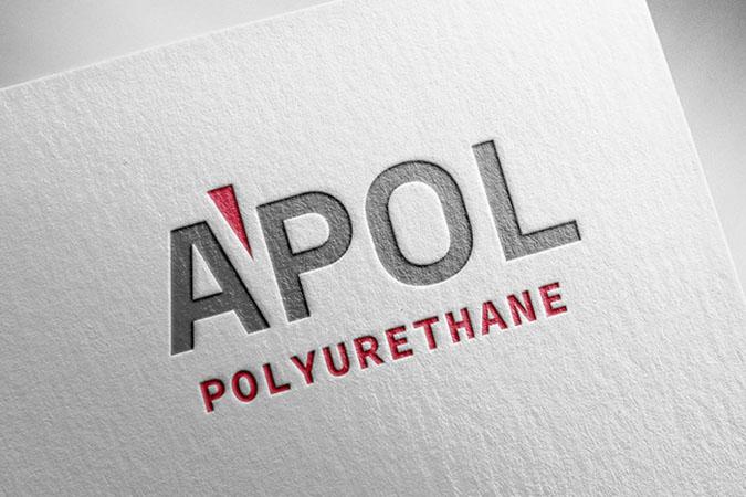 Logo tasarım - Apol Poliürethan - İstanbul