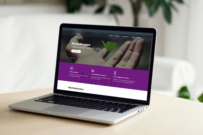 Kurumsal web tasarım - Monogruppe - İstanbul