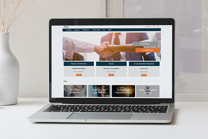 Kurumsal web tasarım - Osen Kariyer - Bursa