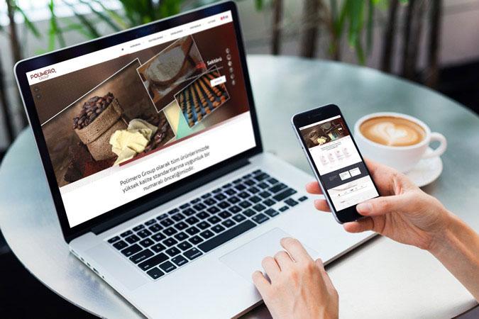 Kurumsal web tasarım - Polimero Group -  İstoç İstanbul