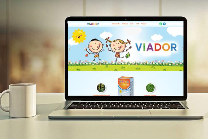 Kurumsal web tasarımı - TK İlaç Viadorsupport -  İstanbul