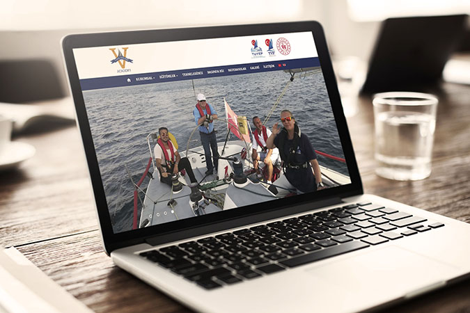 Kurumsal web tasarım - Vera Sailing Academy -  İstanbul