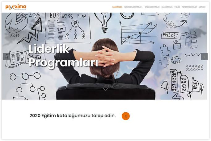 Web Tasarım - Proxima Eğitim Danışmanlık - İstanbul