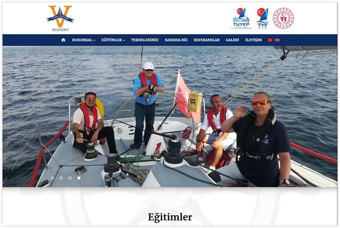 Web Tasarım - Vera Sailing Academy - Muğla Göcek