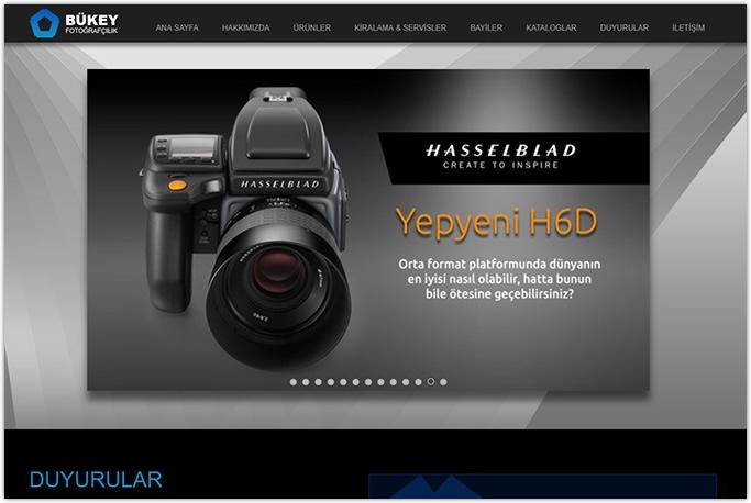 Bükey Fotoğrafçılık Kurumsal Web Sitesi Tasarımı Beyoğlu Beşiktaş İstanbul