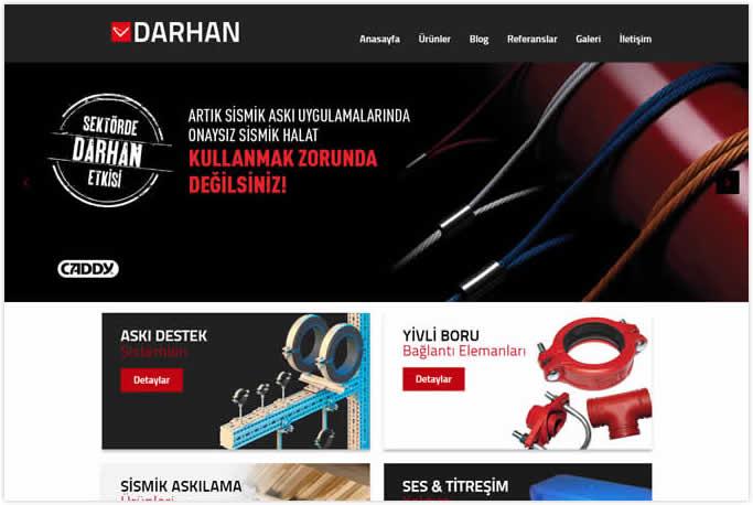 Darhan Mühendislik Web Tasarım Maltepe İstanbul