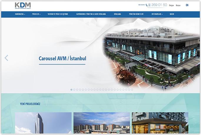 Kdm Avm Danışmanlık Kurumsal Web sitesi Levent Beşiktaş Şişli İstanbul