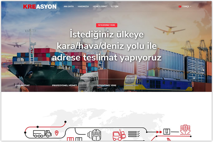 Web Tasarım - Kreasyon Export - İstanbul