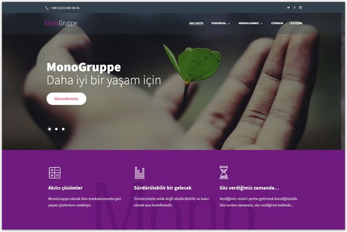 Web Tasarım - Monogruppe - İstanbul
